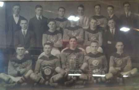 C.P.C. Junior Football (Soccer) Team, Winners of Burnham Shield England 1922