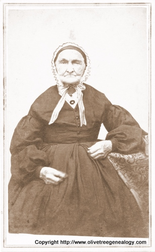 Abigail Robbins, 91 years old, Dec. 24, 1867