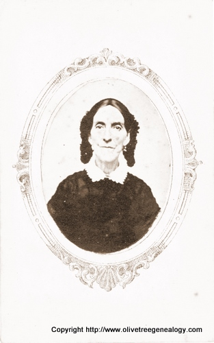 Mary  Smith nee Bates wife of Lebbeus Smith