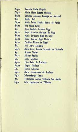 Passenger List of  Ship Federico from Genova Italy to Buenos Aires, Argentina 30 March 1961