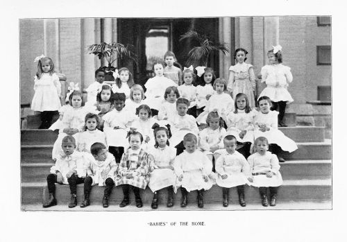 orphan babies in orphanage 1906