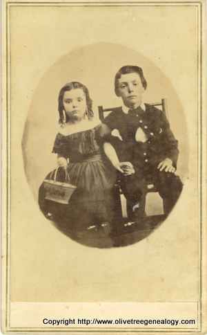 Cornelia & Smith P. Fowler, Dewitt Fowler's children