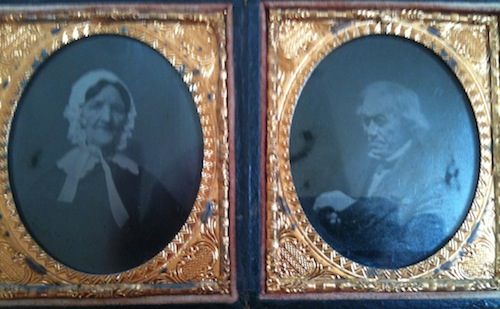 Double Cased Orphan Tintypes