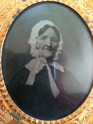 Double Cased Orphan Tintype Woman