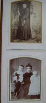 Cabinet Card Timmerman Family Album Chicago Illinois -
