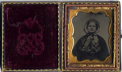 9th plate Ambrotype ca 1858